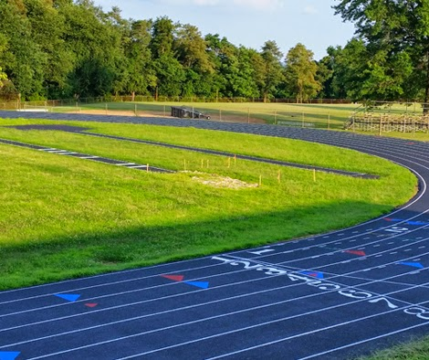 New track at Perryville High School