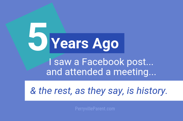5 years ago I saw a Facebook post, attended a meeting, & the rest is history