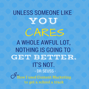 Dr Seuss quote: someone like you cares