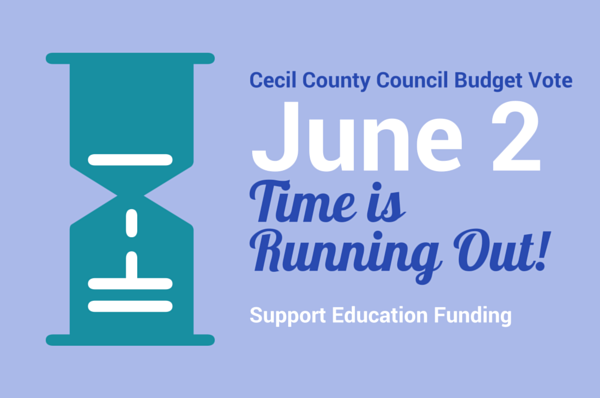 Cecil County Budget Vote June 2