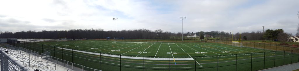 turf field at calvert park