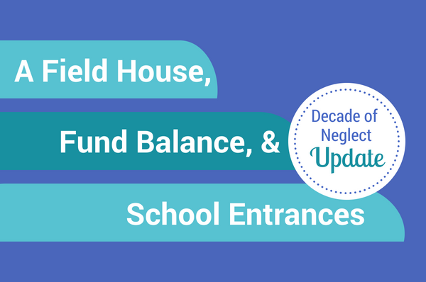 PHS field house CCPS fund balance