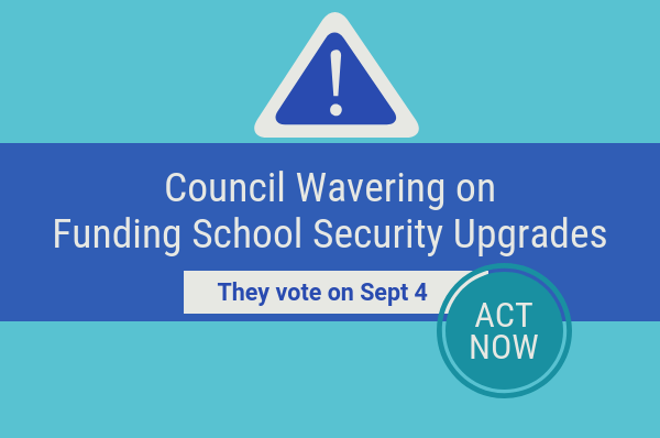 council wavering on school entrances