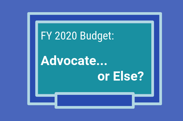 CCPS FY 2020 budget Advocate or Else