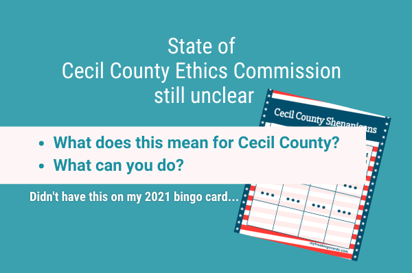 cecil county doesn't have an ethics commission